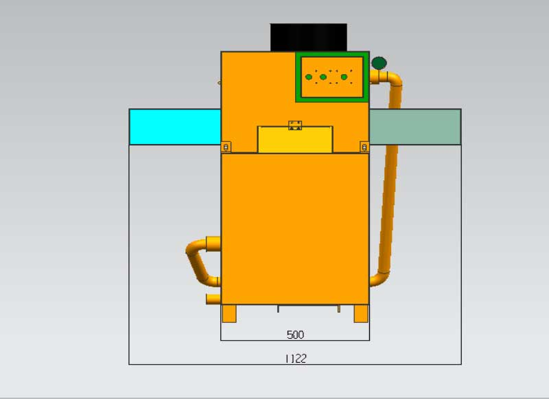 metal scale removal machine parameter