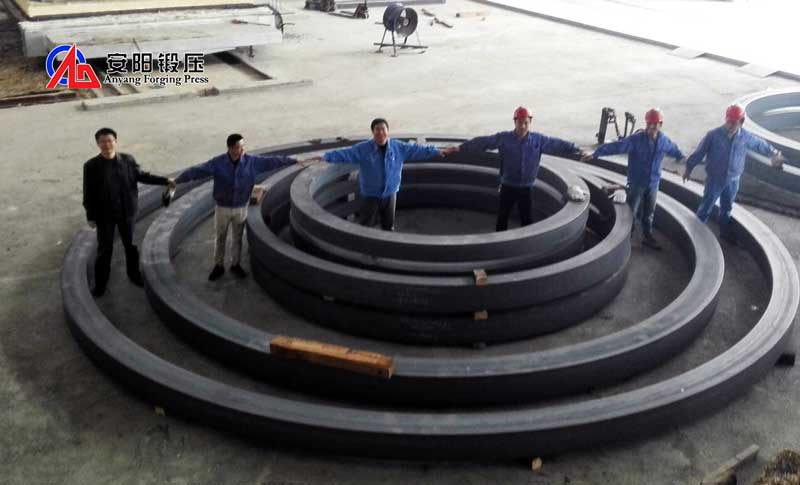 large rolled ring forging machine for sale