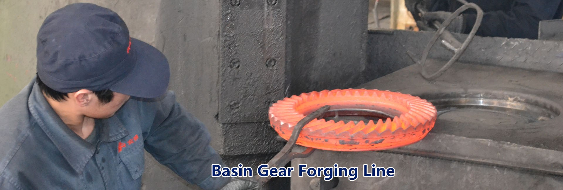 basin gear forging line